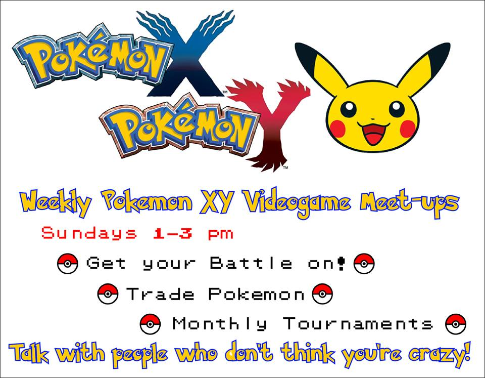 Pokemon tourney flyer