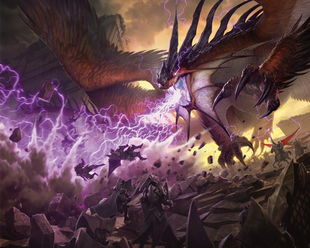 mtg dragons tarkir art